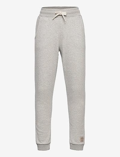 Even pants, K - sweatpants - light grey melange