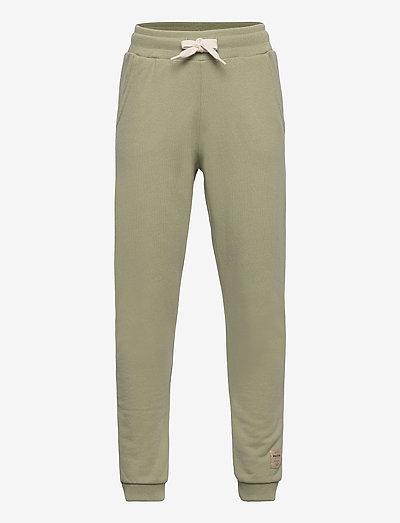 Even pants, K - sweatpants - oil green