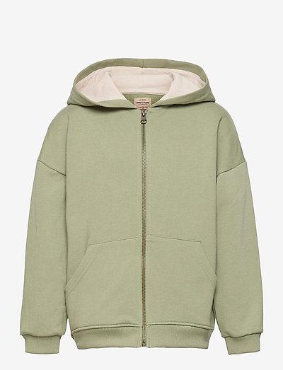 Alfi Zip Hoodie, K - hoodies - oil green