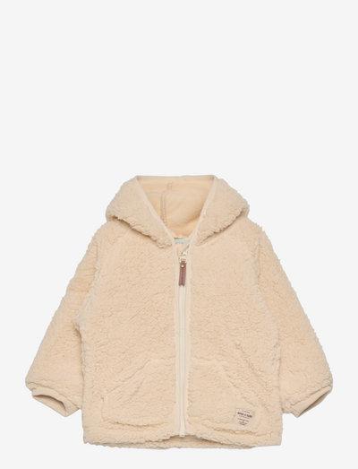 Liff Jacket, M - fleece jacket - angora cream