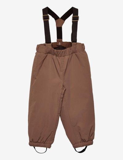 Wilas Pants Suspenders, K - winter trousers - acorn brown