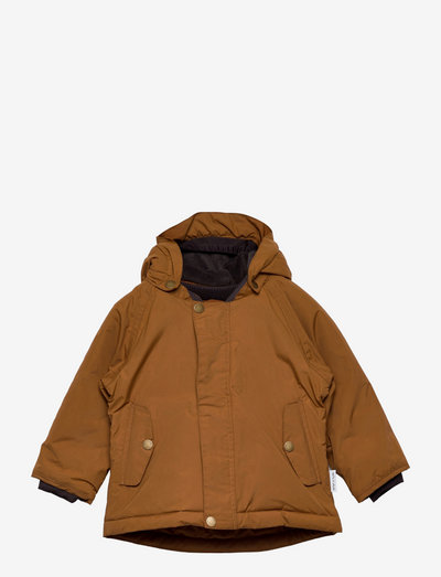 Wally Jacket, M - winter jacket - rubber brown