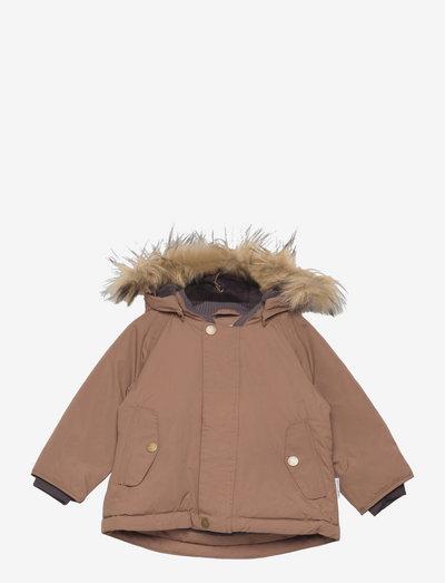 Wally Fake Fur Jacket, M - winter jacket - acorn brown