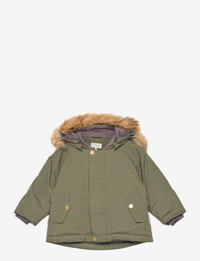 Wally Fake Fur Jacket, M - winter jacket - deep depths