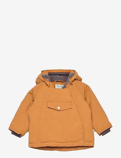 Wang Jacket, M - winter jacket - rubber brown