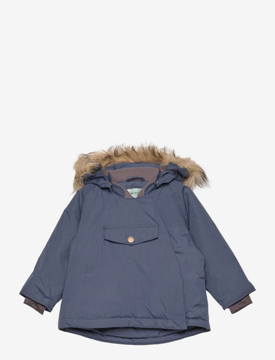 Wang Fake Fur Jacket, M - winter jacket - blue nights