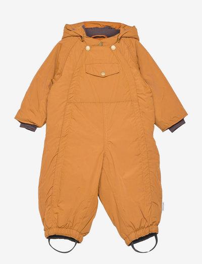 Wisti Suit, M - snowsuit - rubber brown