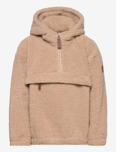 Arman Anorak, K - fleece jacket - doeskind sand