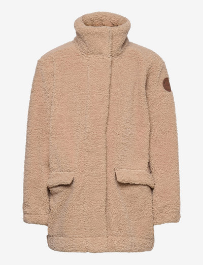 Cesille Jacket, K - fleece jacket - doeskind sand