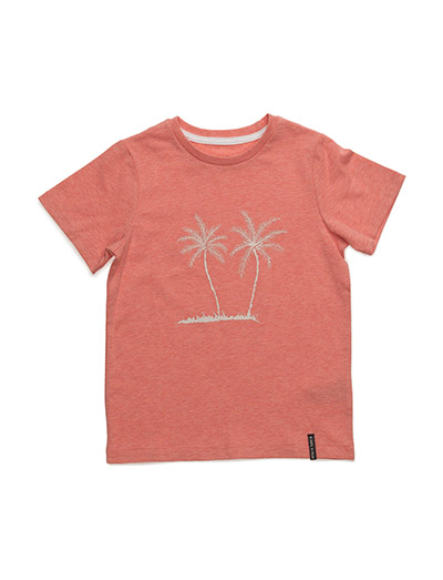 Palmtree, MK T-Shirt LS - STRAWBERRY ICE