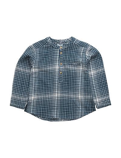 Lai, BM Shirt LS - BLUE WING TEAL