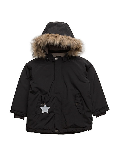 Wally Faux Fur, MK Jacket - BLACK