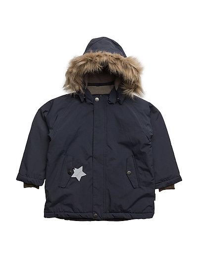 Wally Faux Fur, MK Jacket - BLUE NIGHTS