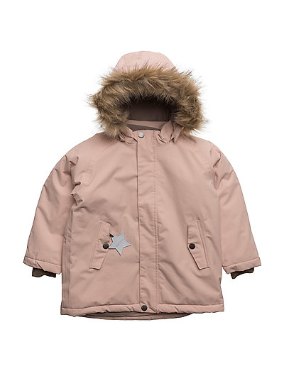 Wally Faux Fur, MK Jacket - ROSE SMOKE