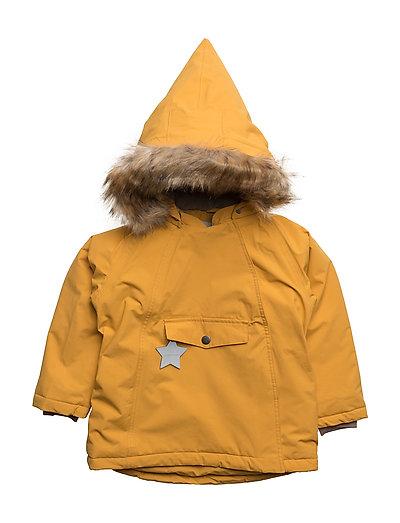 Wang Faux Fur, M Jacket - MINERAL YELLOW