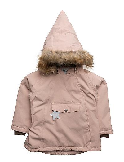 Wang Faux Fur, M Jacket - ROSE SMOKE