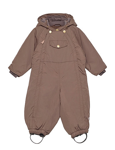 Wisti Suit, M - snowsuit - dark choco