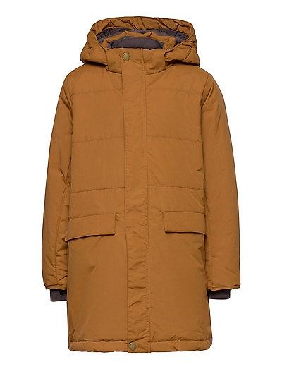 Vinna Jacket, K - winter jacket - rubber brown