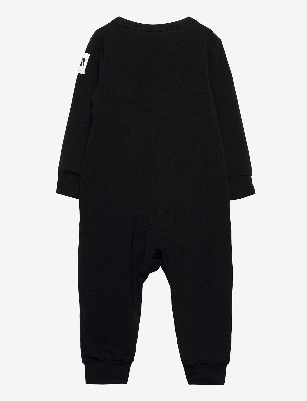 Mini Rodini - Basic jumpsuit - langärmelig - black - 1