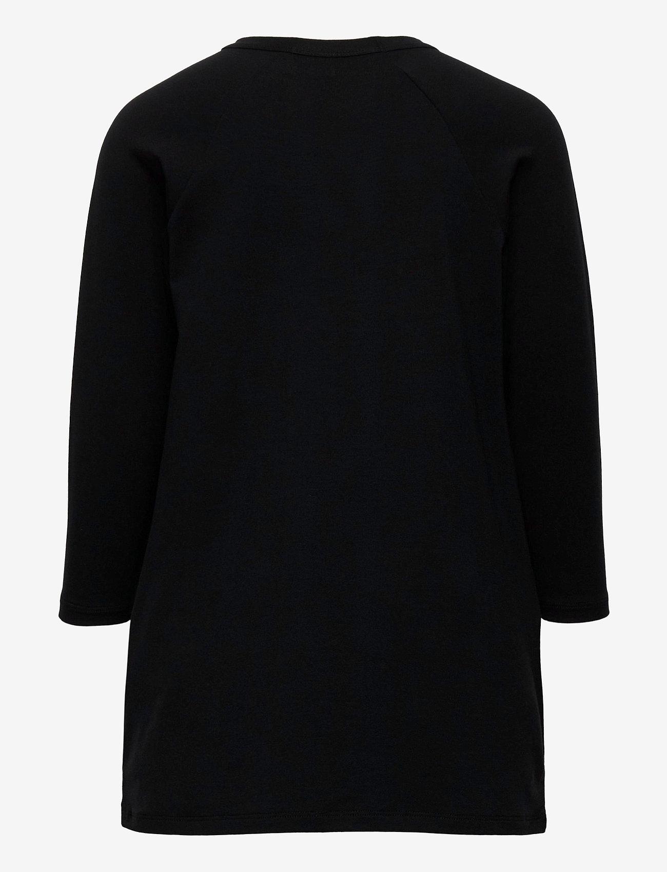 Mini Rodini - Basic ls dress - jurken - black - 1