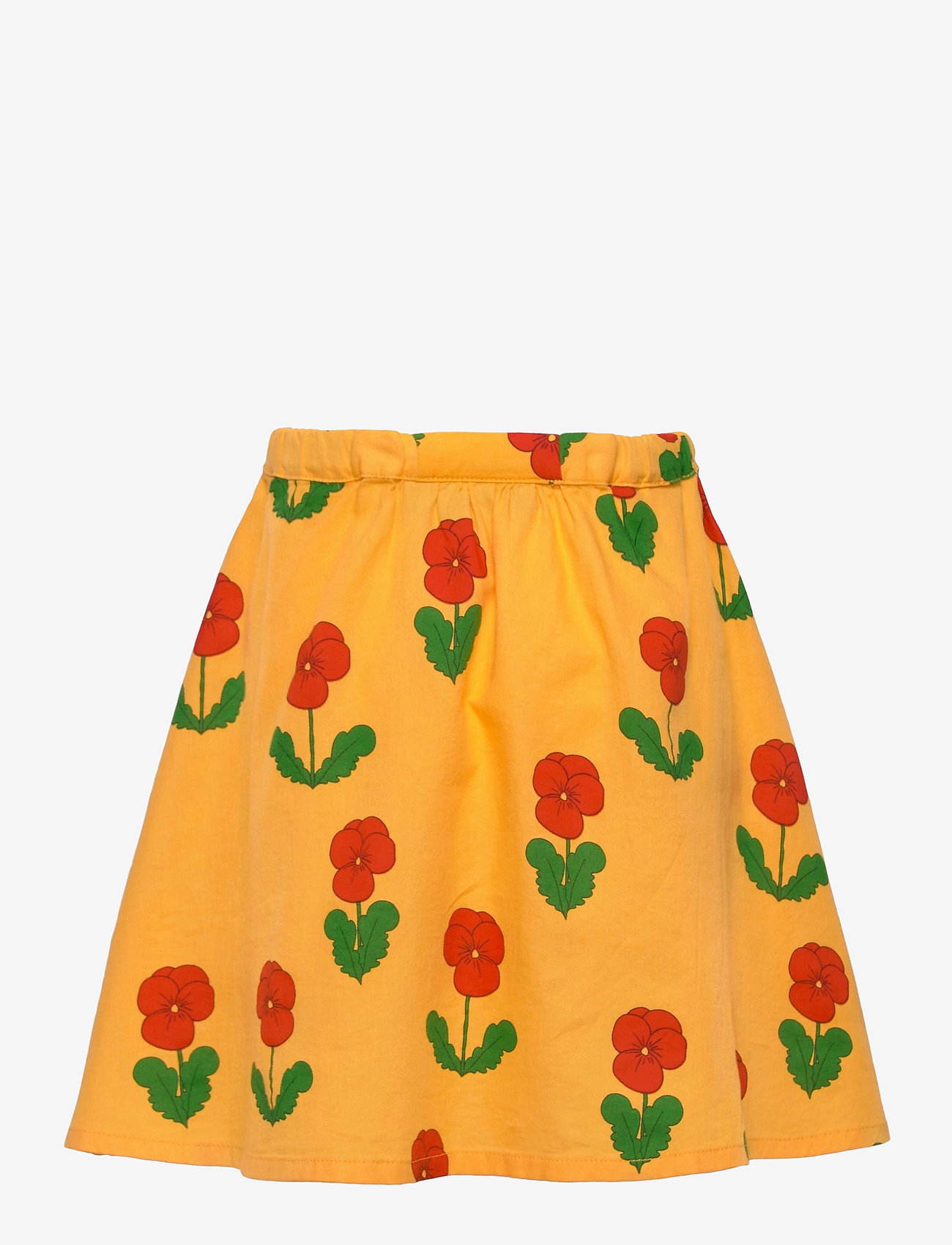 Mini Rodini - Violas long skirt - spódnice - yellow - 1