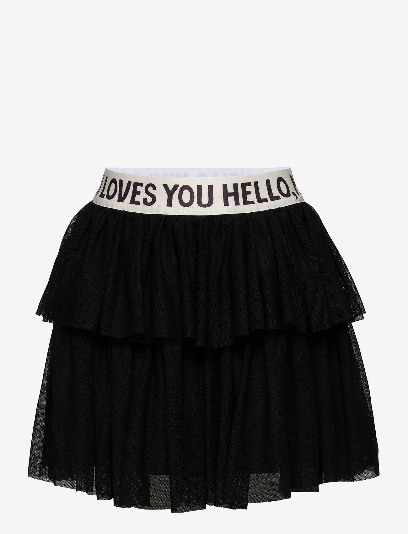 Mini Rodini - Tulle skirt - spódnice - black - 0