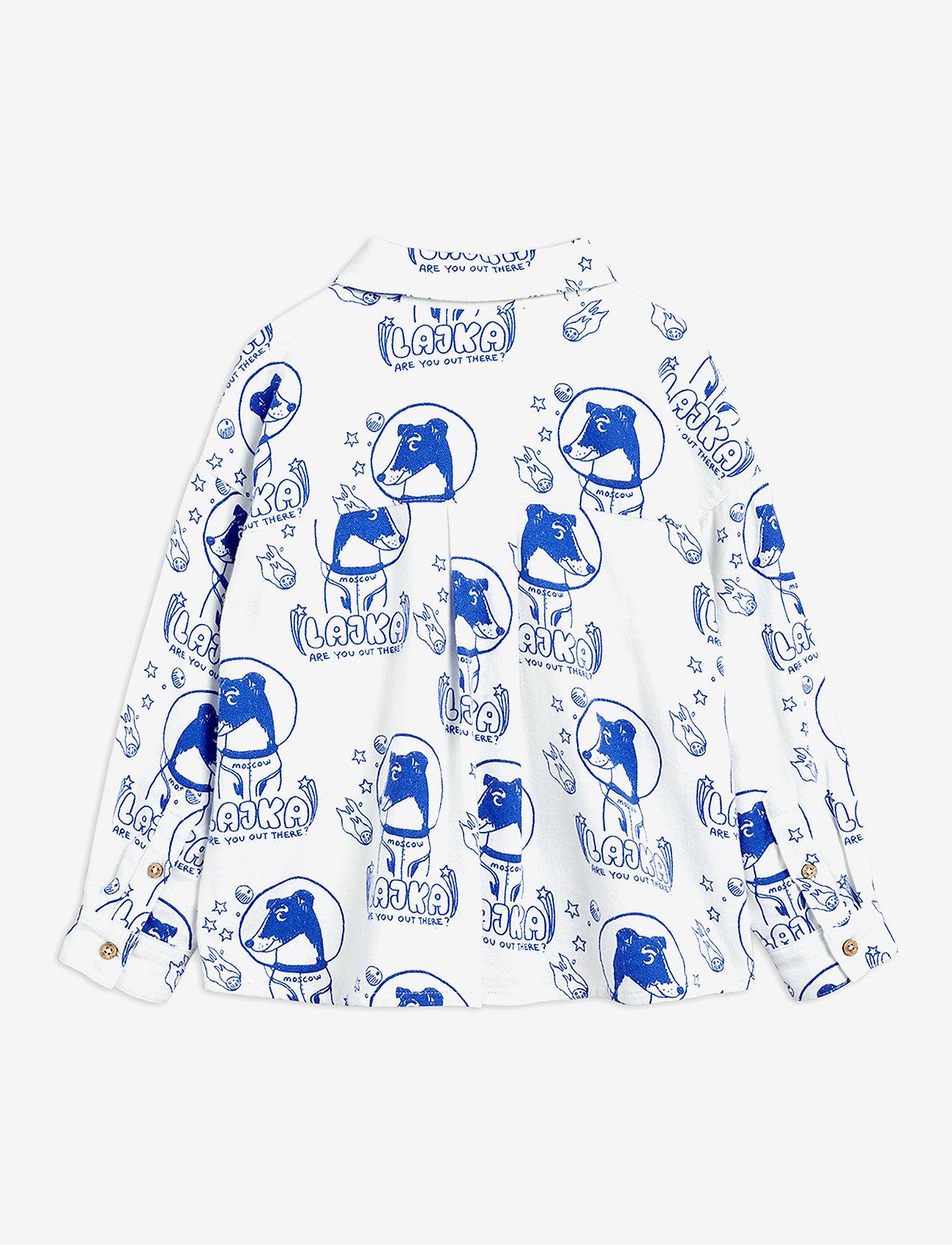 Mini Rodini - Lajka woven shirt - overhemden - offwhite - 1