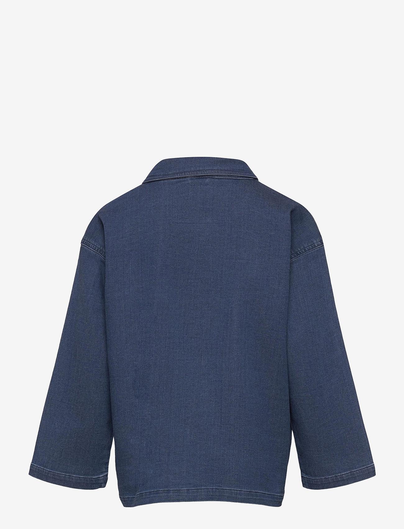 Mini Rodini - Denim strawberry safari jacket - spijkerjassen - blue - 1