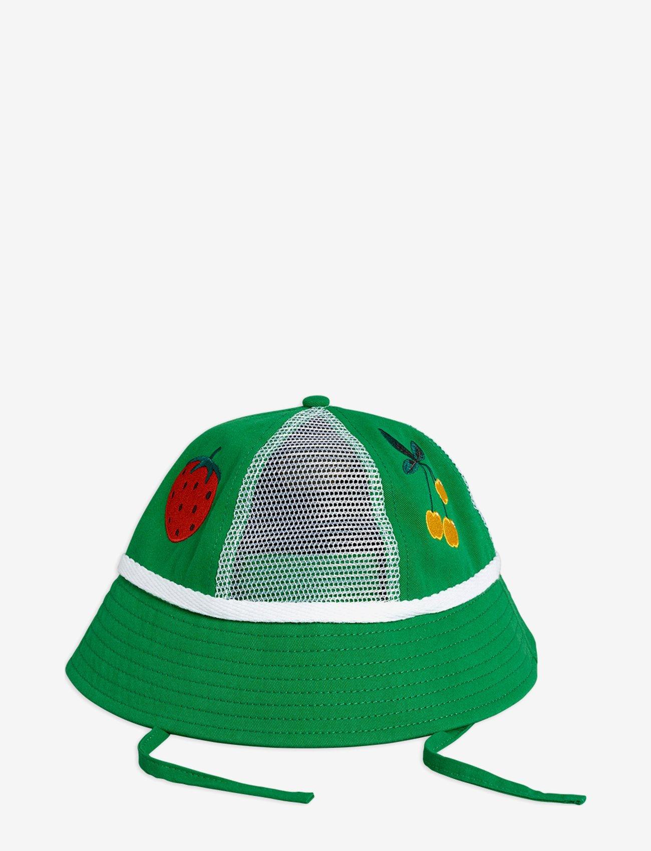 Mini Rodini - Mesh sun hat - huer & kasketter - green - 0