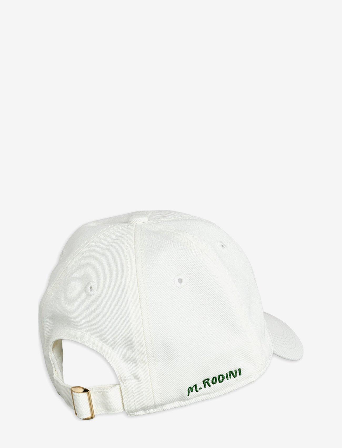 Mini Rodini - Strawberry soft cap - huer & kasketter - offwhite - 1