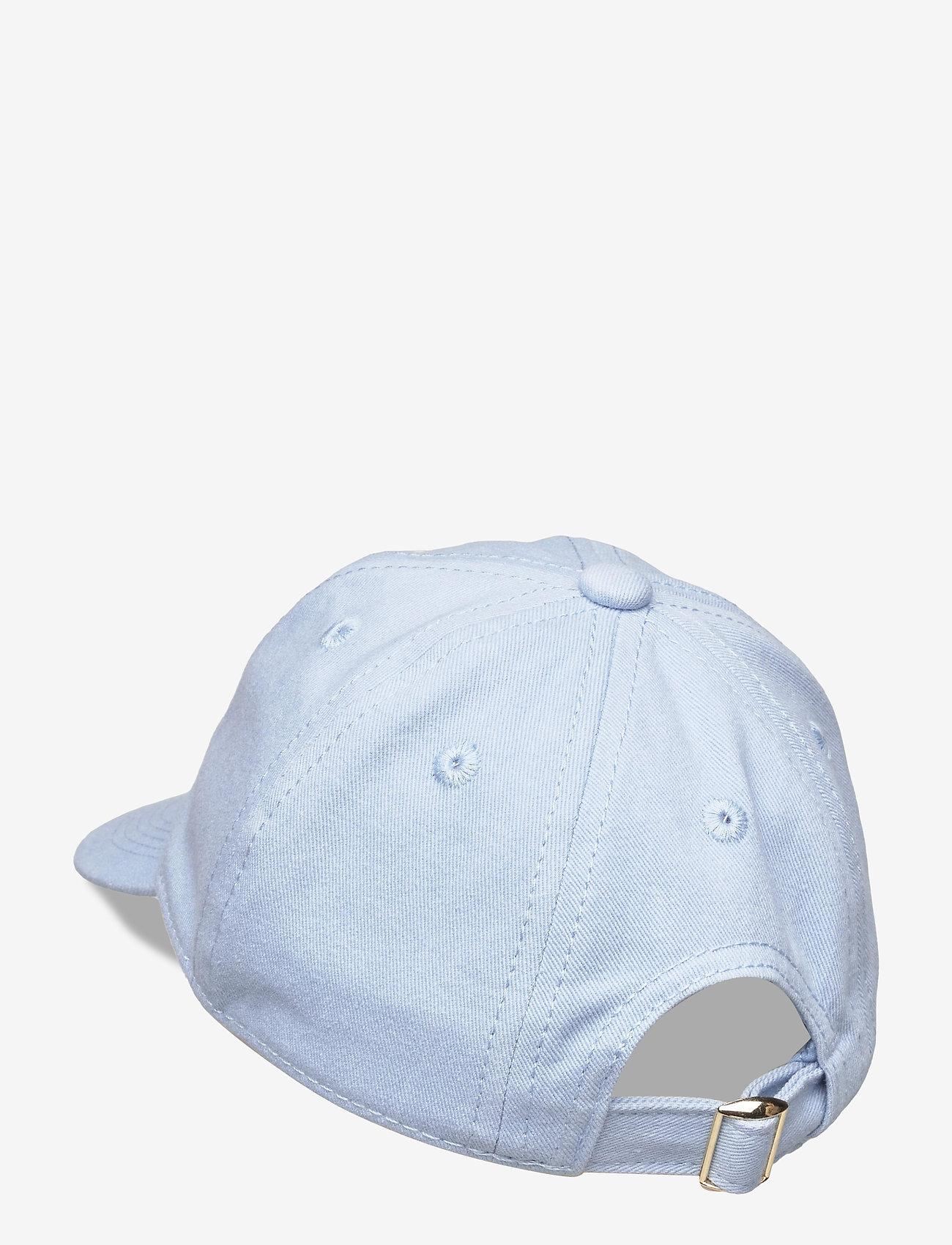 Mini Rodini - Cat soft cap - huer & kasketter - light blue - 1