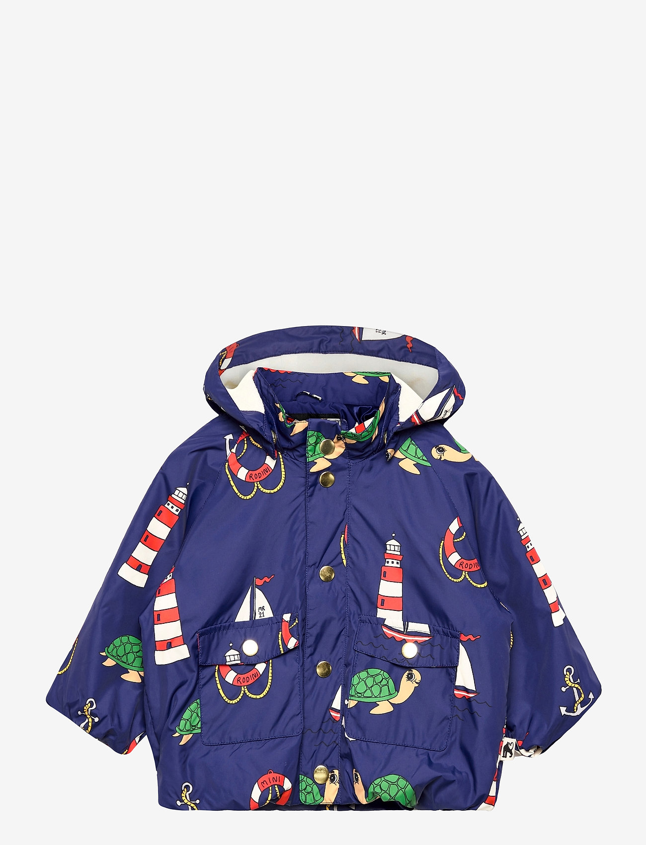 Mini Rodini - Light puffer jacket - gewatteerde jassen - navy - 0