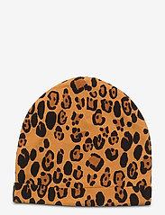 Mini Rodini - Basic leopard beanie - beanie - beige - 1