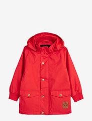 Mini Rodini - Pico jacket - shell jassen - red - 0