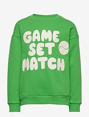 Mini Rodini - Game sp sweatshirt - sweatshirts - green - 0