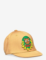 Mini Rodini - Cat badge trucker cap - czapki - beige - 0