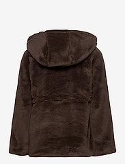 Mini Rodini - Faux fur parka - faux fur - brown - 3