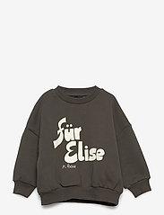 Mini Rodini - Für Elise sp sweatshirt - sweatshirts - grey - 1