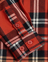Mini Rodini - Woven flanell shirt - shirts - red - 3
