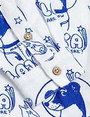Mini Rodini - Lajka woven shirt - overhemden - offwhite - 2