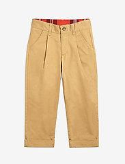 Mini Rodini - Twill chinos - trousers - beige - 0