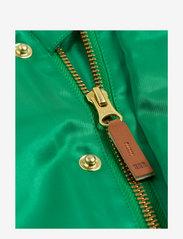Mini Rodini - Panther baseball jacket - bomberjacks - green - 2