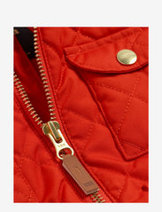 Mini Rodini - Cherry embroidery hooded jacket - windbreaker jassen - red - 2