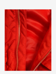 Mini Rodini - Cherry embroidery hooded jacket - windbreaker jassen - red - 4