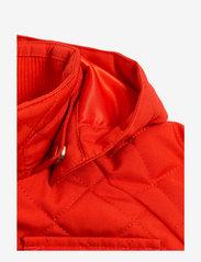 Mini Rodini - Cherry embroidery hooded jacket - windbreaker jassen - red - 5
