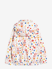 Mini Rodini - Rabbit sporty jacket - windbreaker jassen - offwhite - 1