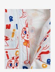 Mini Rodini - Rabbit sporty jacket - windbreaker jassen - offwhite - 3
