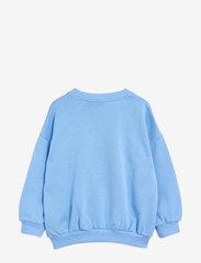 Mini Rodini - Tiger sp sweatshirt - sweatshirts - blue - 1