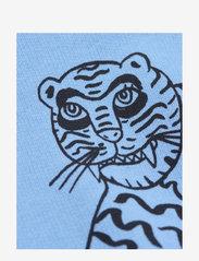 Mini Rodini - Tiger sp sweatshirt - sweatshirts - blue - 2