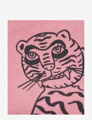 Mini Rodini - Tiger sp sweatshirt - sweatshirts - pink - 2